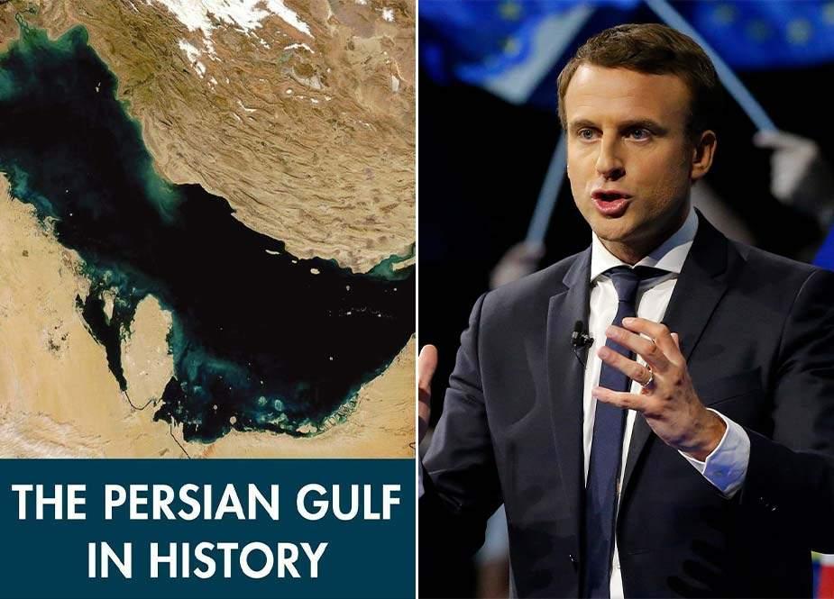 İran XİN-in rəsmisi Makrona 3 dildə cavab verdi