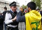 Pendukung Hizbullah di London (majalla)
