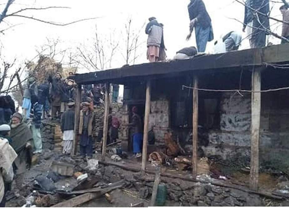 داریل، گھر میں آتشزدگی سے دو بچے جاں بحق