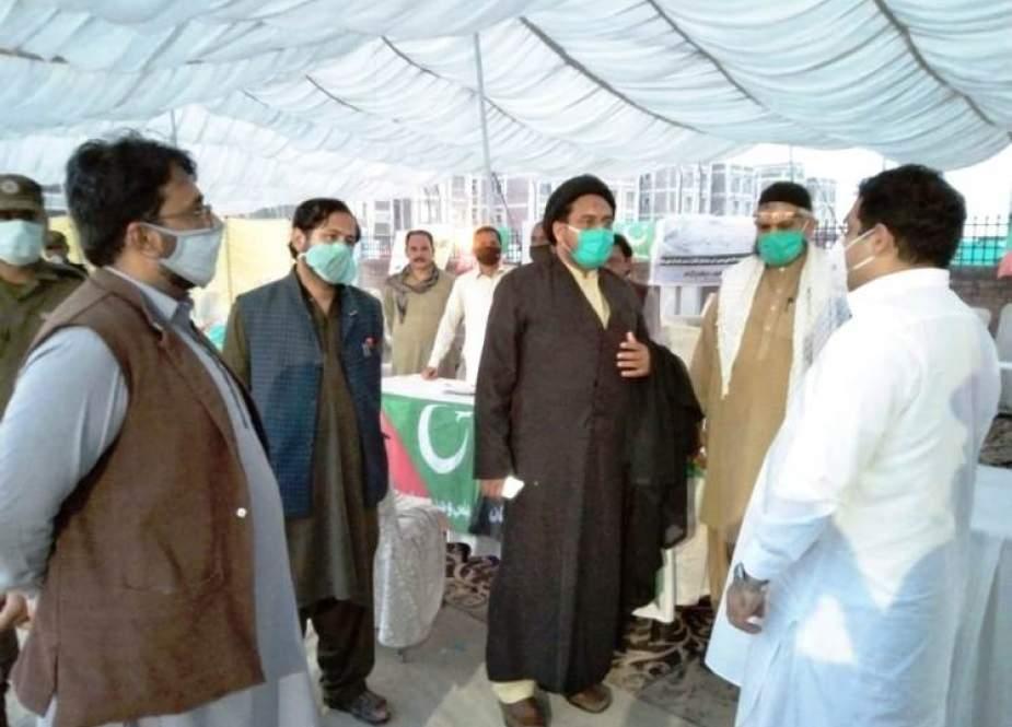 مجلس وحدت مسلمین کے زائرین کے لیے اقدامات قابل تحسین ہیں، ڈپٹی کمشنر ملتان