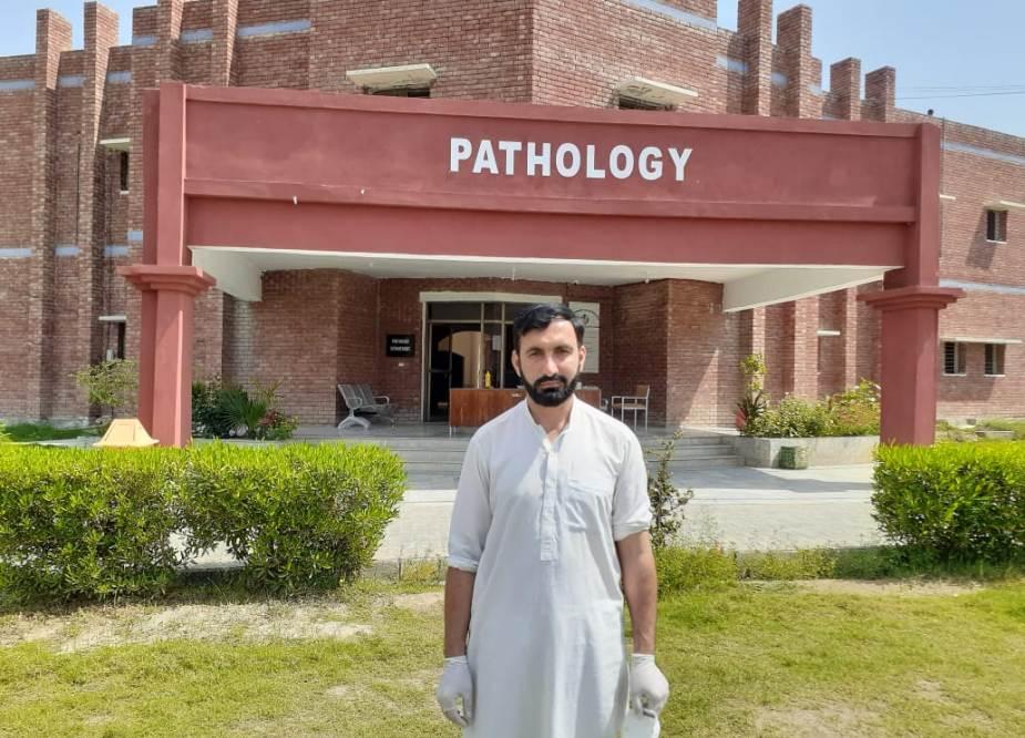 ڈی آئی خان میں قائم زائرین کے قرنطینہ سنٹر کے اندرونی مناظر
