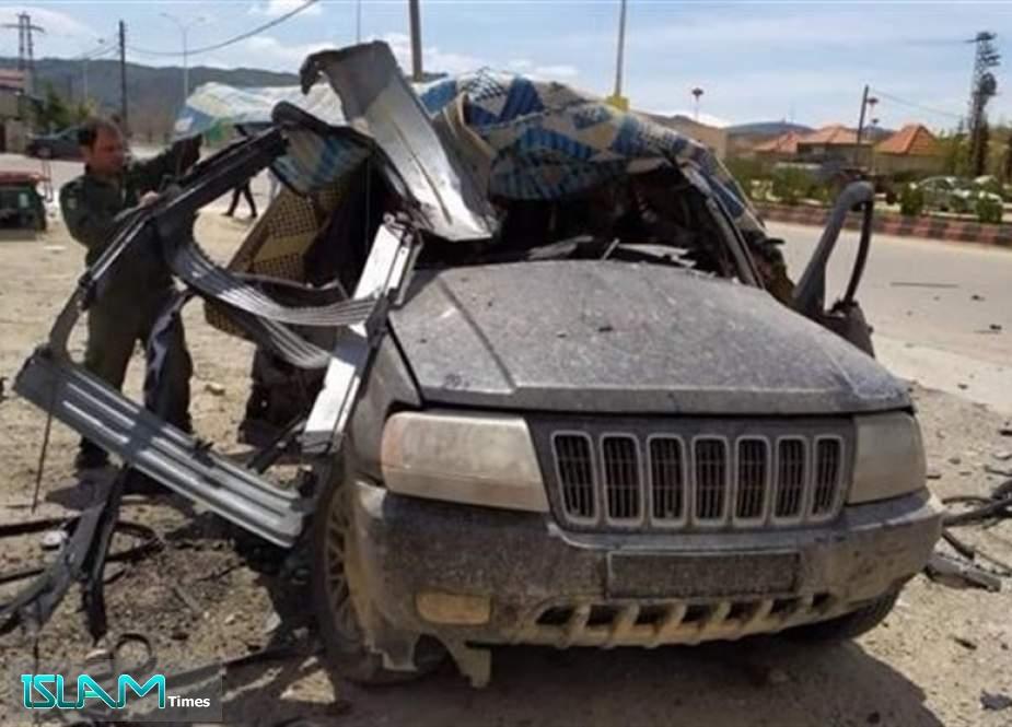 Israeli Drone Targets Hezbollah Car near Syrian-Lebanese Border