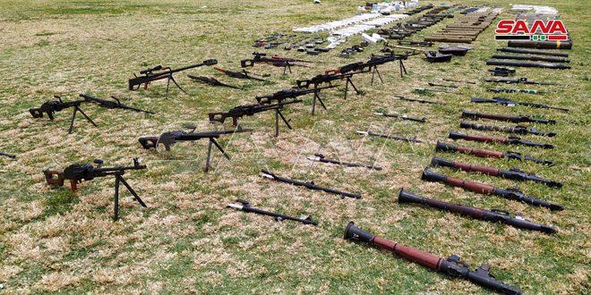 Suriyada terrorçuların qoyub qaçdığı ABŞ istehsalı silahlar ələ keçirildi