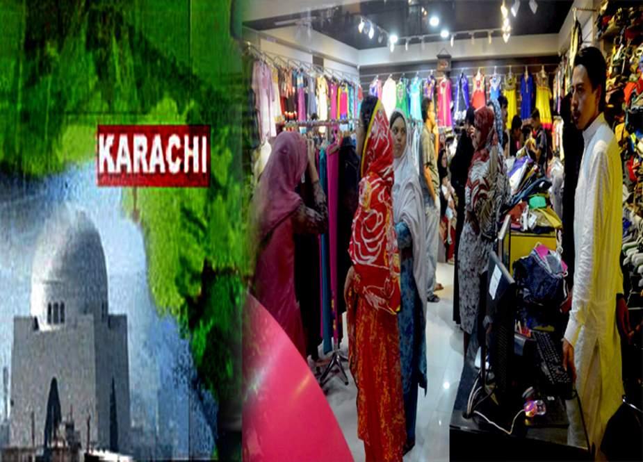 کراچی کے تاجروں کا یکم رمضان سے دکانیں کھولنے کا اعلان