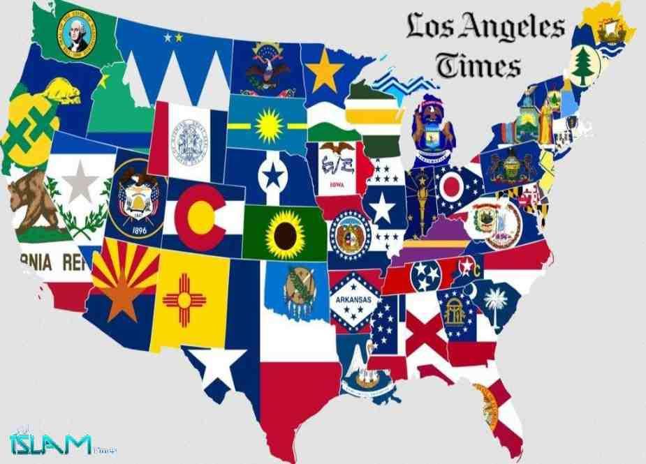 امریکہ کے ٹکڑوں میں بٹنے کا وقت آن پہنچا ہے، امریکی اخبار