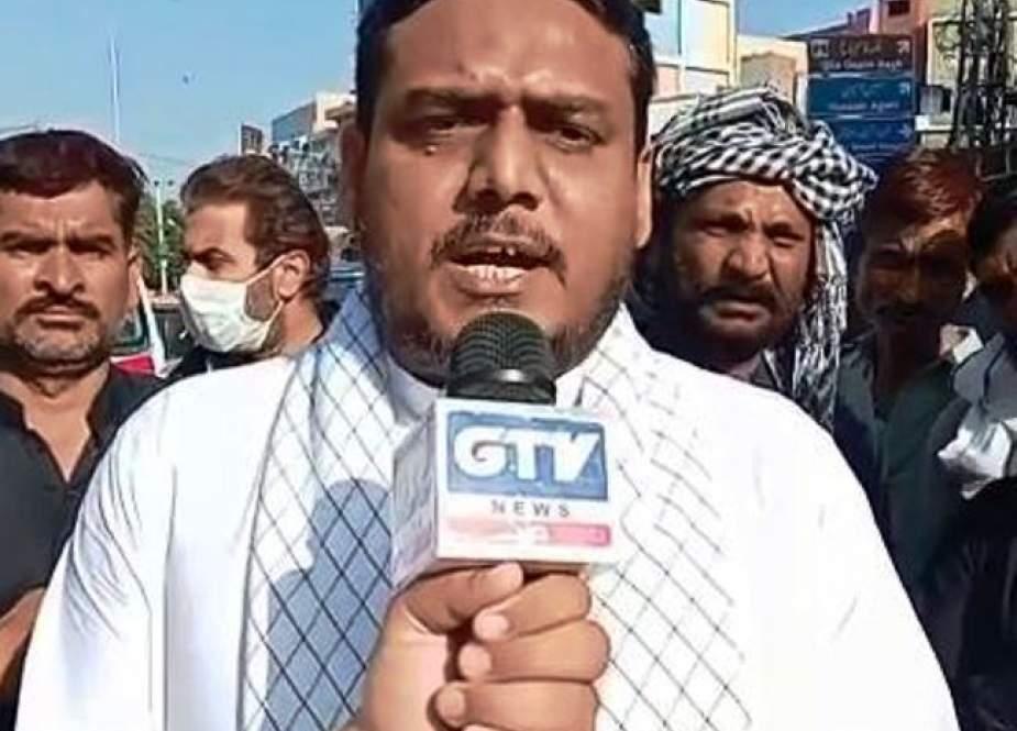 کراچی میں شرکائے جلوس کی گرفتاری سے سندھ حکومت کا چہرہ کھل کر سامنے آگیا، علامہ اقتدار نقوی