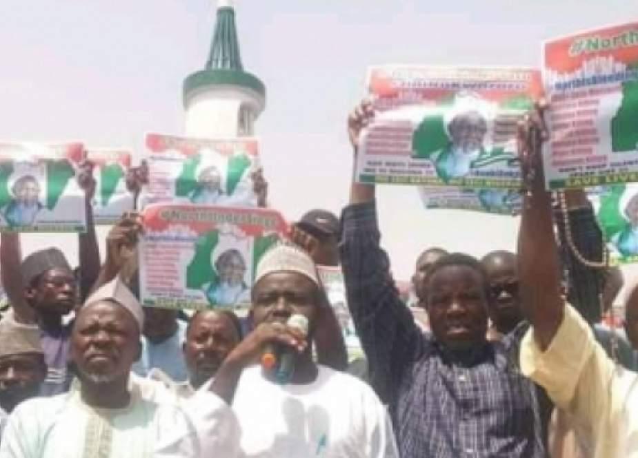 Nigeriyada 33 şəhərdə Şeyx Zəkzəkinin azadlığı tələb olundu