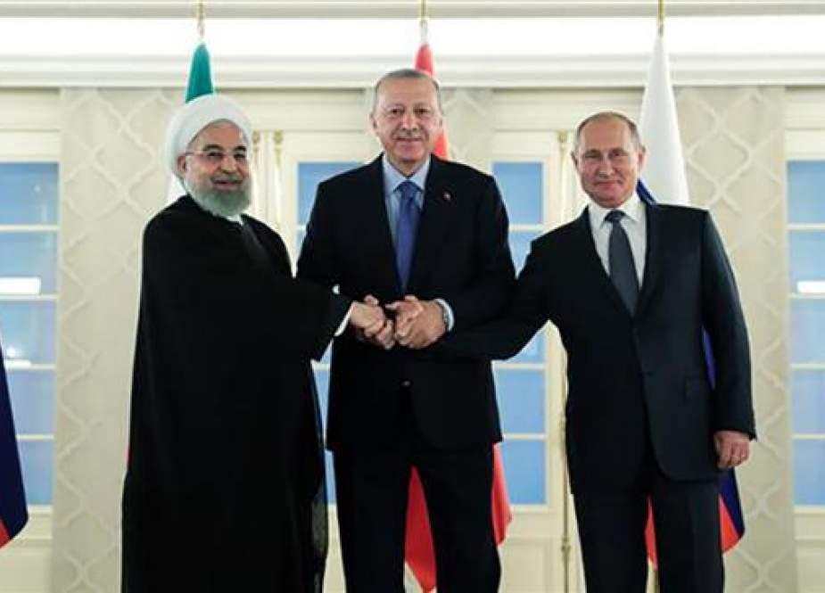 Iran akan Jadi Tuan Rumah Pembicaraan Suriah dengan Rusia danTurki