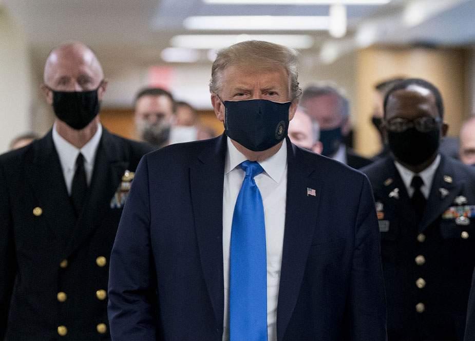 """Trampdan inadkar qərar: """"Maska məcburiyyətini təsdiq etməyəcəyəm"""""""