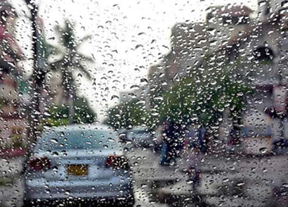 کراچی میں ہلکی اور تیز بارش کا سلسلہ جاری