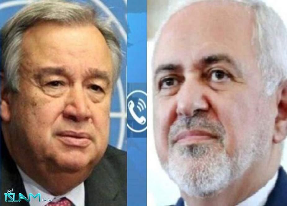 سلامتی کونسل اپنی قانونی ذمہ داریوں پر عملدرآمد کرتے ہوئے امریکی حکومت کو لگام ڈالے، ایران