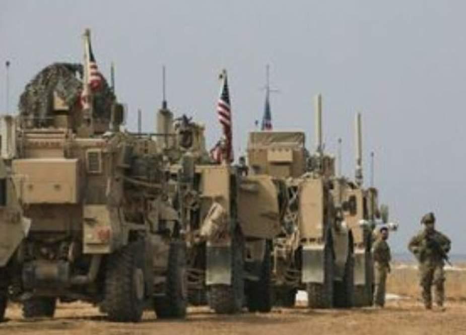 آتش زدن تانکهای آمریکایی در عراق