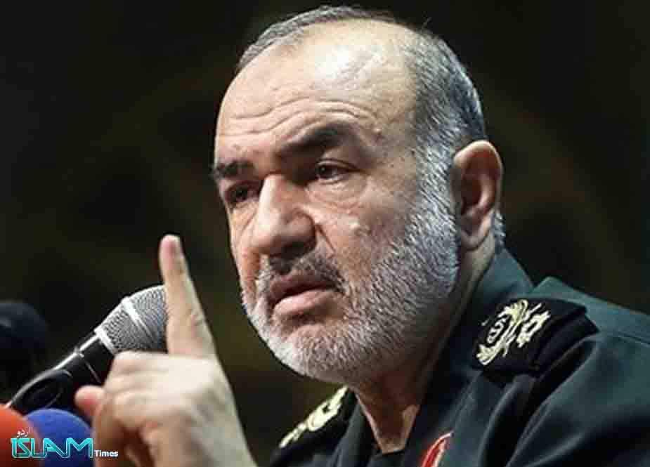 امریکی جان لیں! جنرل سلیمانی کی ٹارگٹ کلنگ میں ملوث ہر شخص کو نشانہ بنائینگے، میجر جنرل حسین سلامی