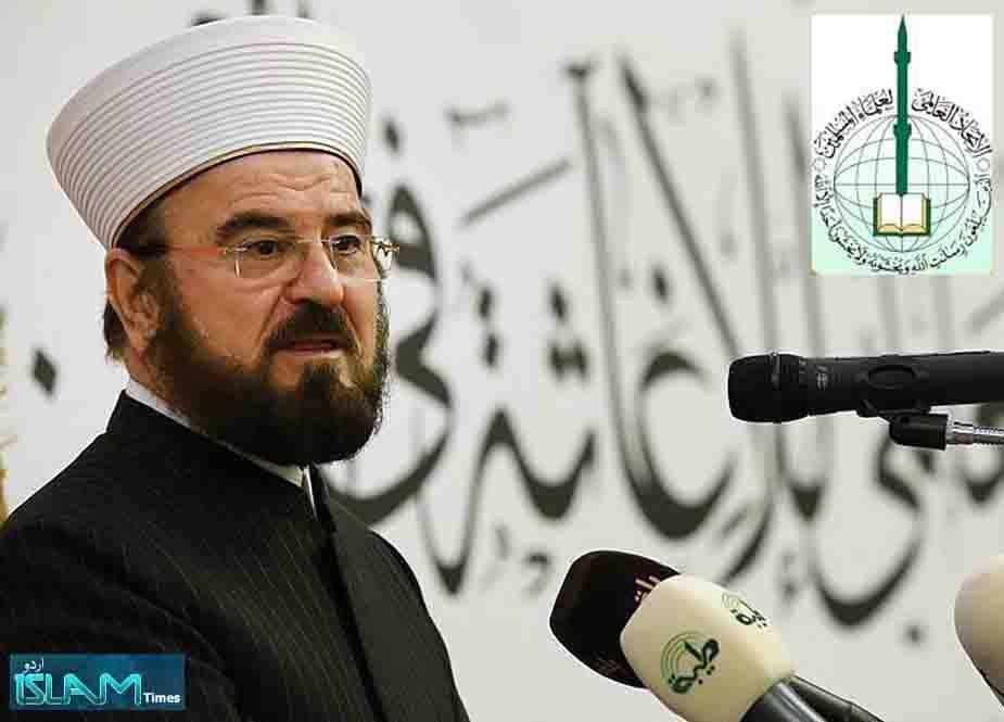 عرب حکمران اپنی کرسیاں بچانے کیلئے اسرائیل کو تسلیم کر رہے ہیں، شیخ علی القرہ داغی
