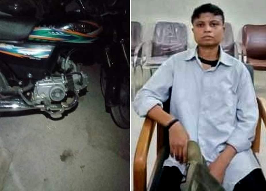 کراچی، موٹرسائیکل چوری کی وارداتوں میں خاتون کے ملوث ہونیکا انکشاف