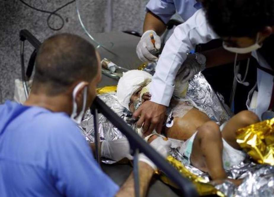 Korban perang Yaman (PressTV).
