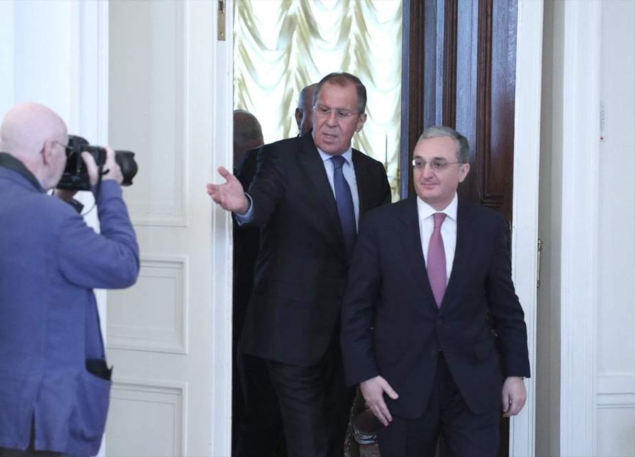 Ermənistan və Rusiya XİN rəhbərləri arasında telefon danışığı olub