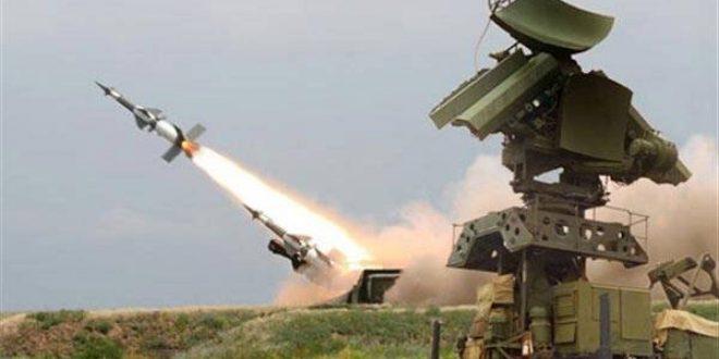 الدفاعات الجوية السورية تتصدى لعدوان ''إسرائيلي'' في سماء دمشق