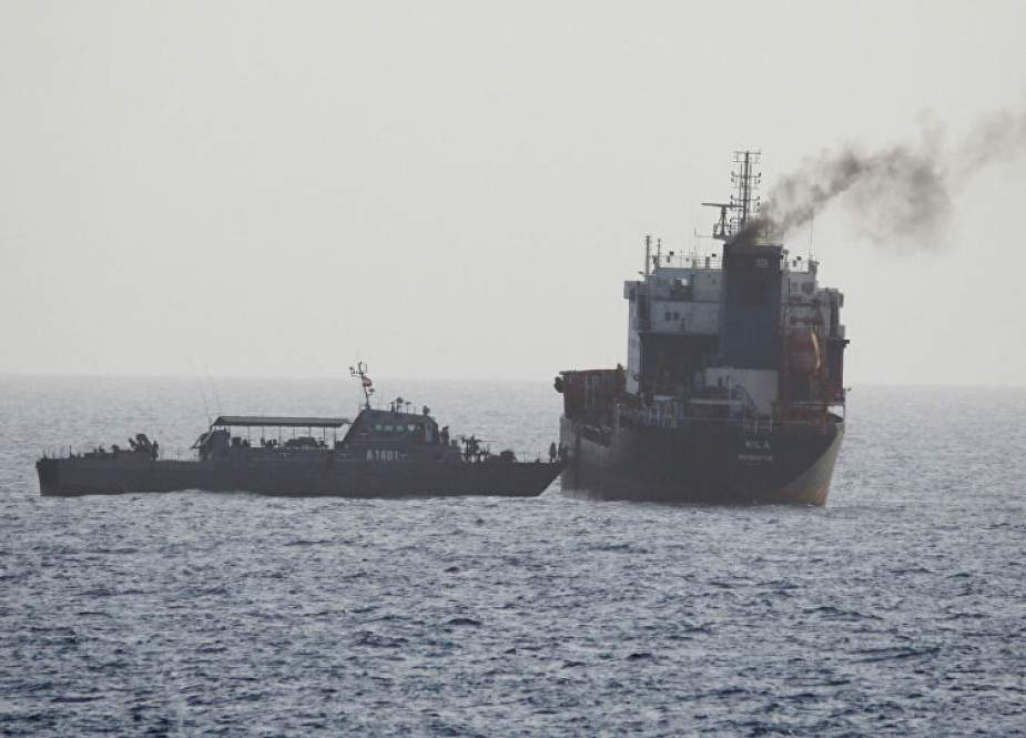 Panama-flagged vessel seized by Iran for alleged fuel smuggling.jpg