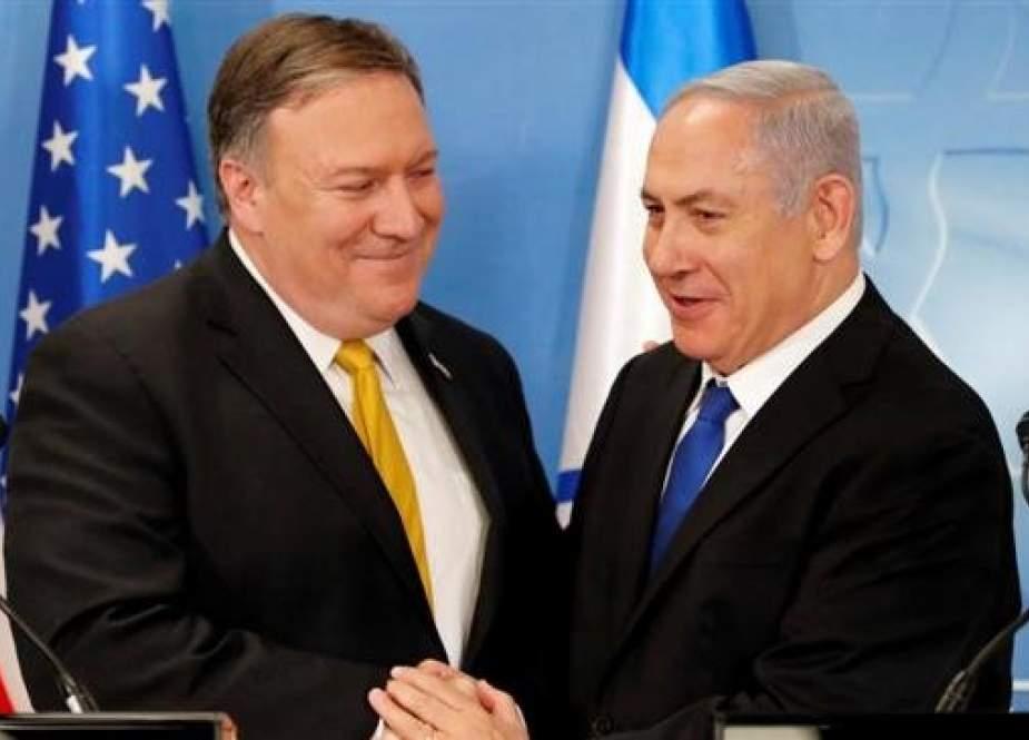 US Secretary of State Mike Pompeo and Israeli Prime Minister Benjamin Netanyahu.jpg