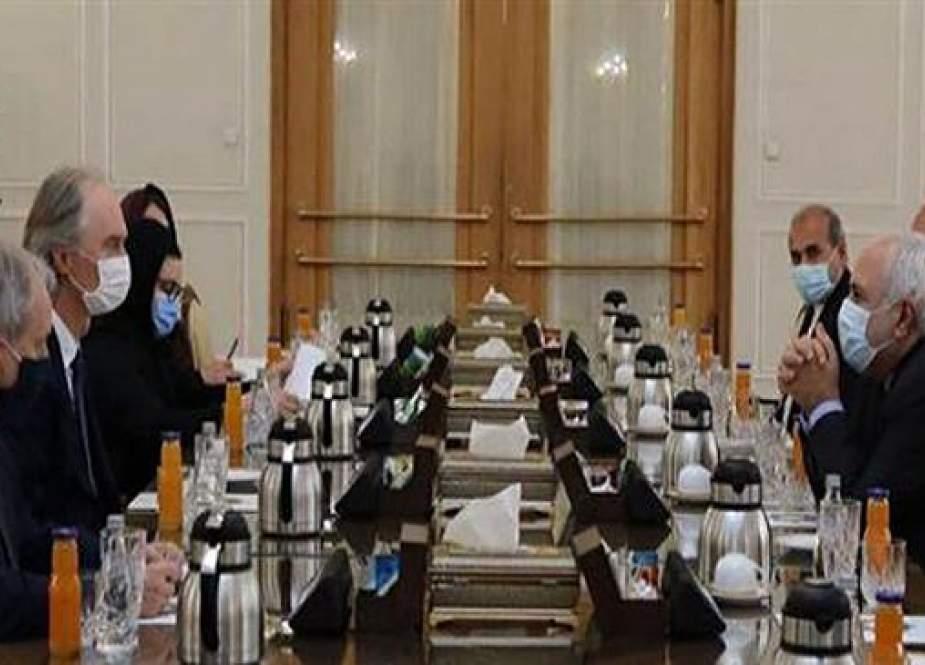 Zarif Dari Iran Menyerukan Pencabutan Semua Sanksi