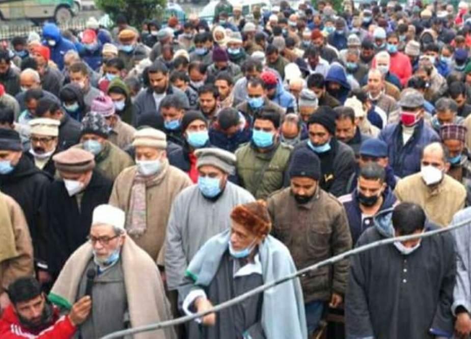 مولانا عباس انصاری کی اہلیہ انتقال کرگئی، سیاسی، سماجی اور مذہبی جماعتوں کی تعزیت
