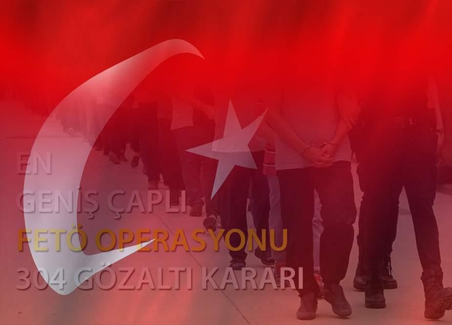 Türkiyədə yüzlərlə hərbçi HƏBS OLUNDU