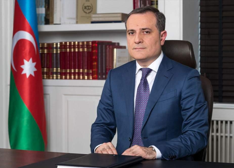 Ceyhun Bayramov Şamxani ilə görüşdü
