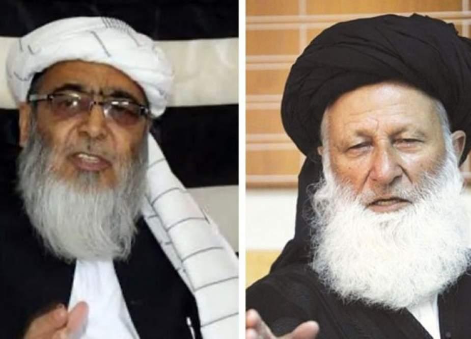 جمعیت علما اسلام نے مولانا شیرانی اور حافظ حسین کو پارٹی سے نکال دیا