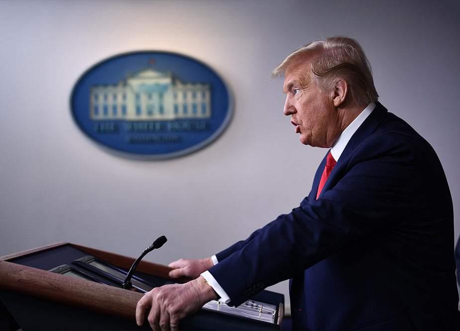 Tramp ABŞ-ın 2021-ci il büdcəsini imzalayıb