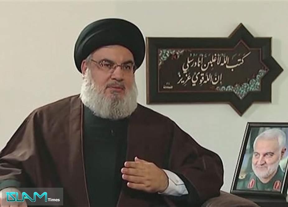 Sayyed Nasrallah: US, Israel, Saudi Arabia Culprits in Assassinating Gen. Soleimani