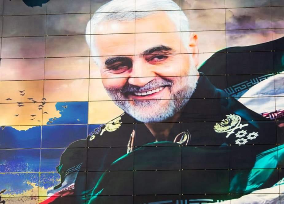 Mural of General Qassem Soleimani recently unveiled in Tehran.jpg