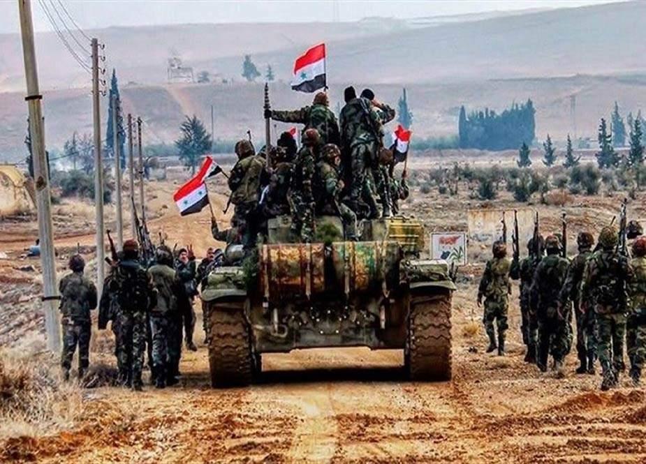 Suriya ordusu hərbi əməliyyatlara başladı