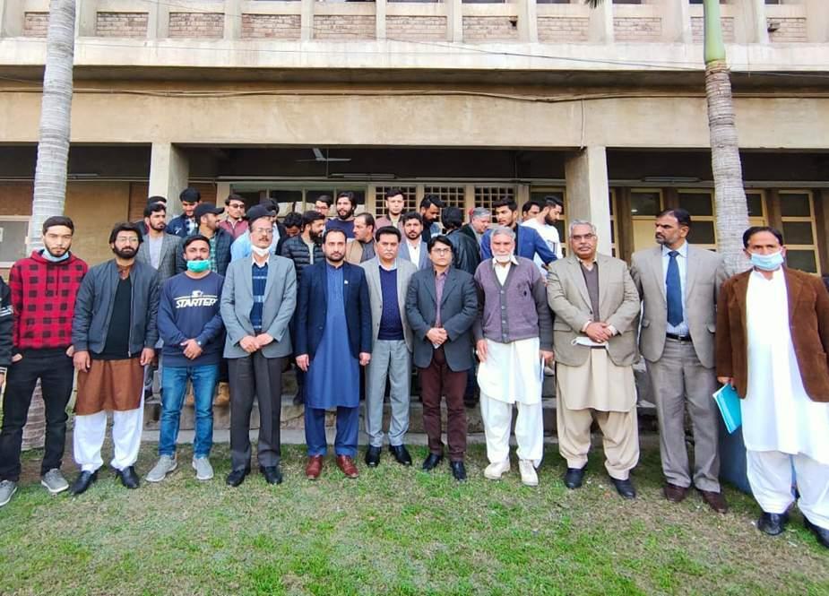 جی بی میں زرعی یونیورسٹی فیصل آباد کے سب کیمپس کے قیام کیلئے اقدامات اٹھائیں گے، کاظم میثم