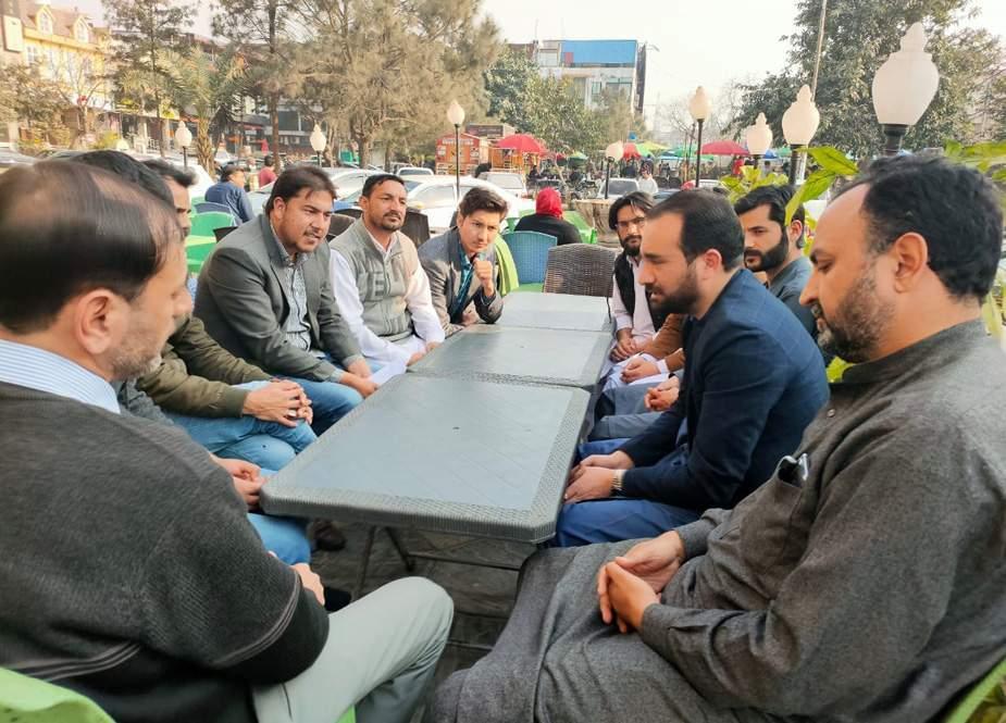 اسلام آباد، جی بی کے ایگری گریجویٹس، اسکالرز اور ڈاکٹرز کے وفد کی صوبائی وزیر کاظم میثم سے ملاقات