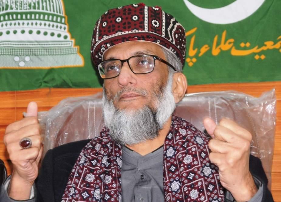 پی ڈی ایم کی ناقص حکمت عملی نے حکومت کو مضبوط کردیا ہے، صاحبزادہ ابوالخیر زبیر