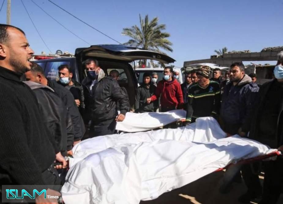 Three Gazan Fishermen Martyred in Israeli Attack Off Khan Yunis