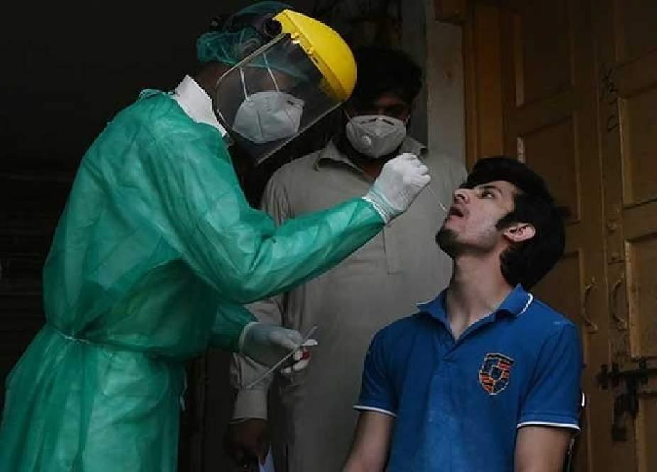 کورونا وبا، مزید 57 افراد جاں بحق، مثبت کیسز میں تشویشناک اضافہ