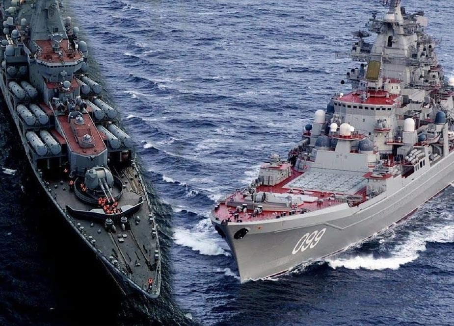 Rusiyanın NATO-nu təhdid edən böyük donanması