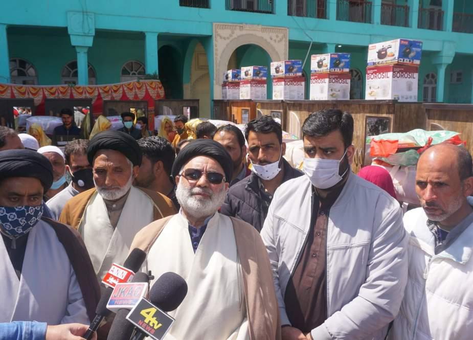 انجمن شرعی شیعیان کشمیر کے اہتمام سے اجتماعی نکاح خوانی کی تقریب