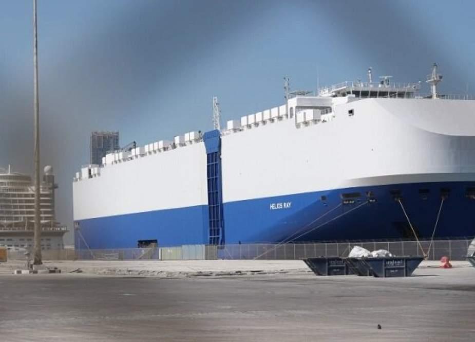 Sebuah Kapal Israel Ditargetkan Di Pelabuhan Fujairah