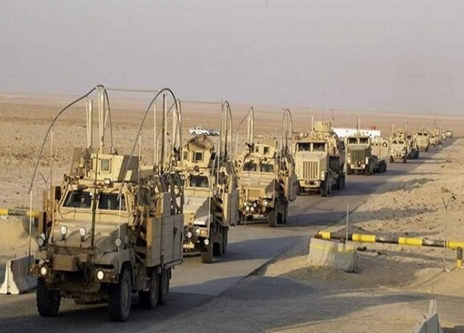Konvoi AS Menjadi Target Di Gubernuran Selatan Irak