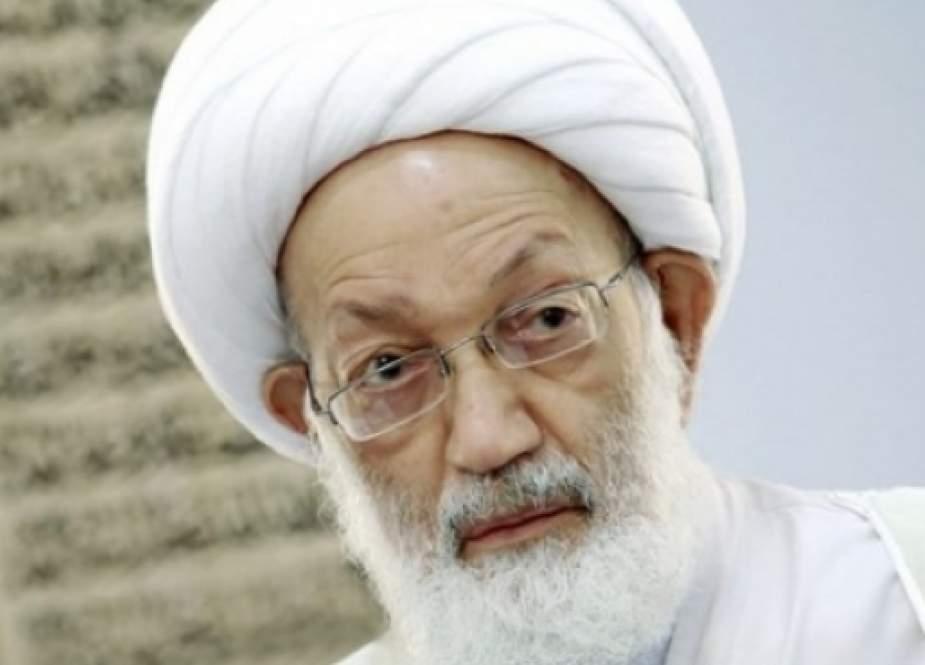 Ayətullah İsa Qasim siyasi məhbusları müdafiə etdi