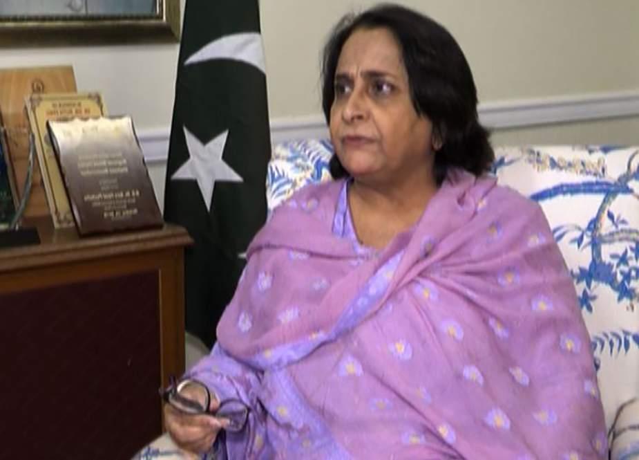 کراچی اور حیدرآباد میں کورونا کا پھیلاؤ بڑھ سکتا ہے، ڈاکٹر عذرا پیچوہو
