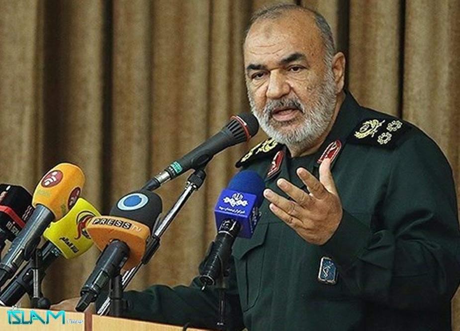 ایران، اسرائیل کے ہر شیطانی اقدام کا جواب کہیں زیادہ شدت کیساتھ دیگا، میجر جنرل سلامی