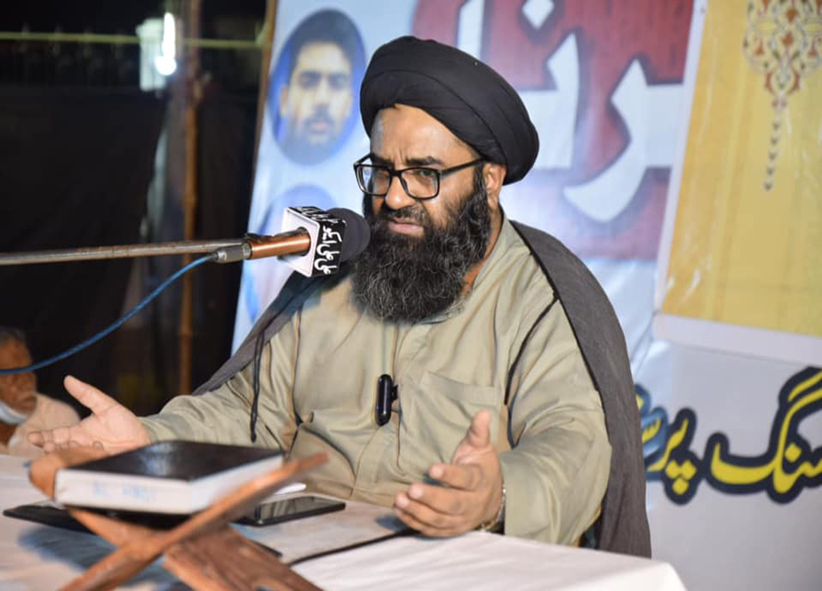 شیعہ لاپتہ افراد کی بازیابی کیلئے دھرنا جاری، جشن امام حسن (ع) کا انعقاد