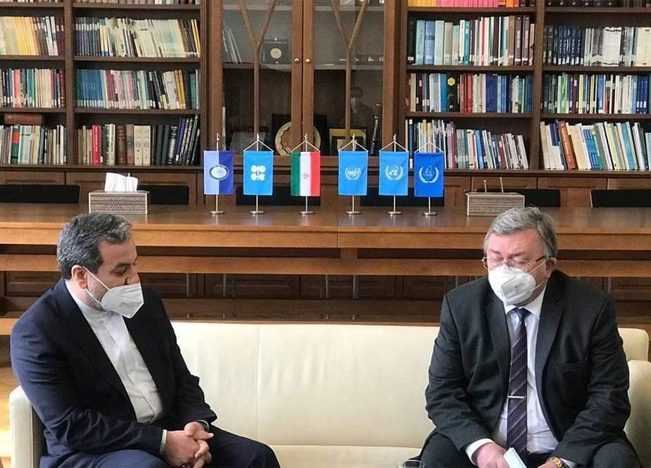 İran və Rusiya diplomatları Vyanada görüşdü