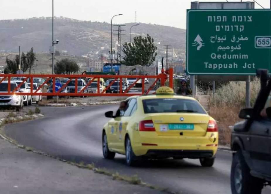 Nablus Drive-by Shooting Op
