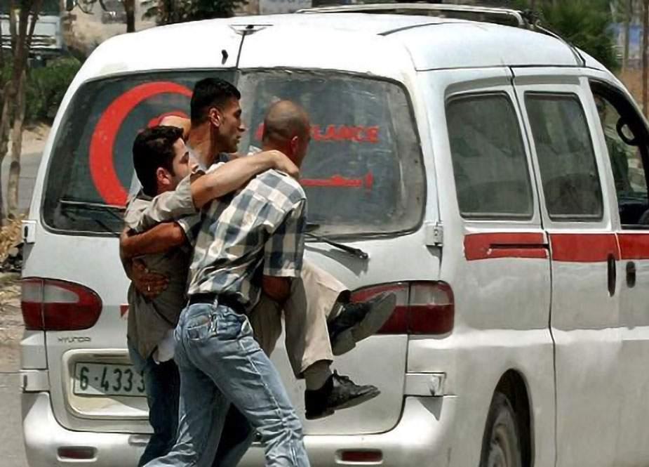 İsrail polisləri fələstinliləri yaraladı