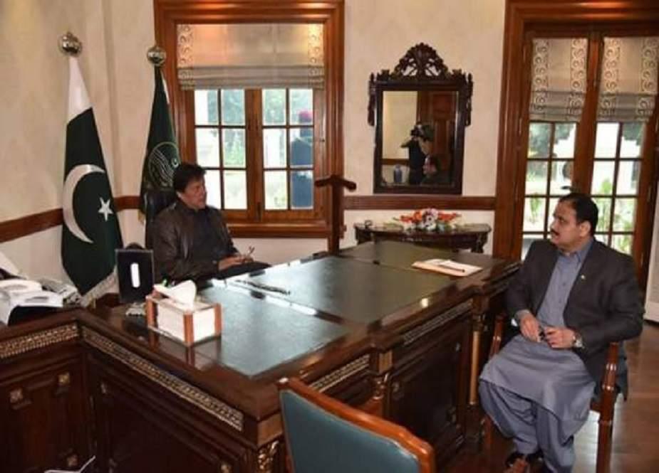 وزیراعظم کا وزیراعلیٰ پنجاب کی کارکردگی پر اطمینان کا اظہار